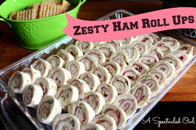 Zesty Ham Rollups from A Spectacled Owl