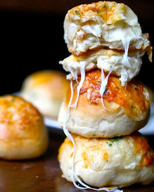 Peeta's Stuffed Cheese Buns from Yammie's Noshery