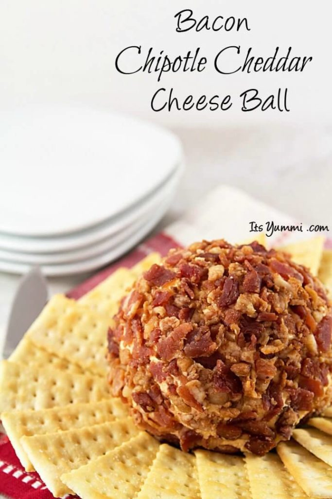 Bacon Cheddar Cheese Ball from It's Yummi