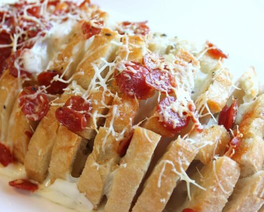 Pull Apart Pepperoni Bread from Created by Diane