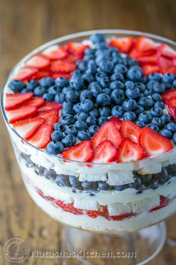 No Bake Berry Trifle